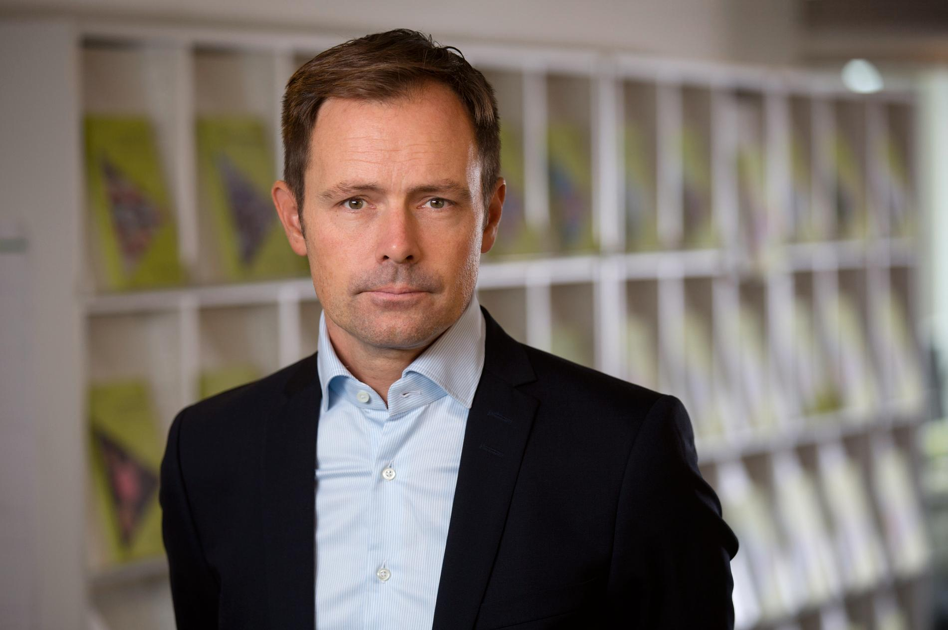Jean-Luc av Geijerstam, generaldirektör på Vårdanalys. Pressbild.