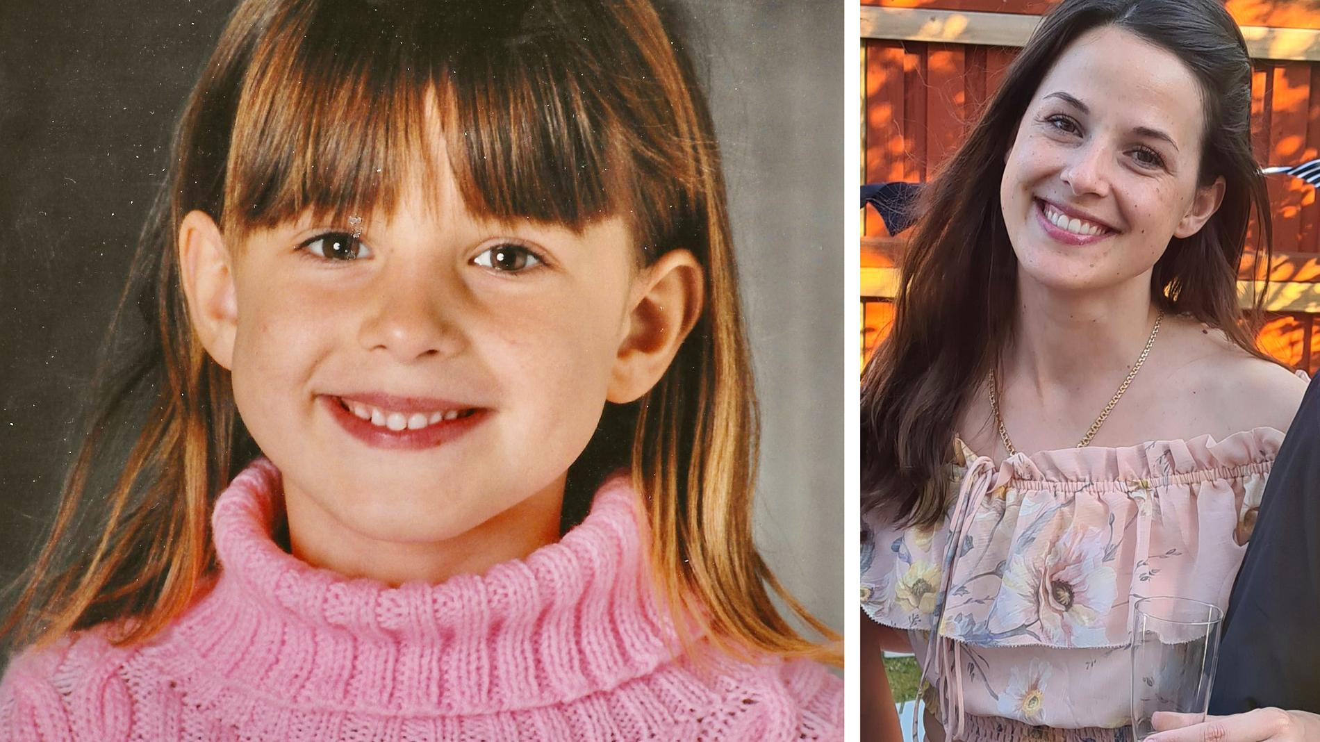 Alexandra Martin var fem år när hon var nära att drunkna i en å. En okänd kvinna räddade hennes liv, nu efterlyser Alexandra sin hjälte.
