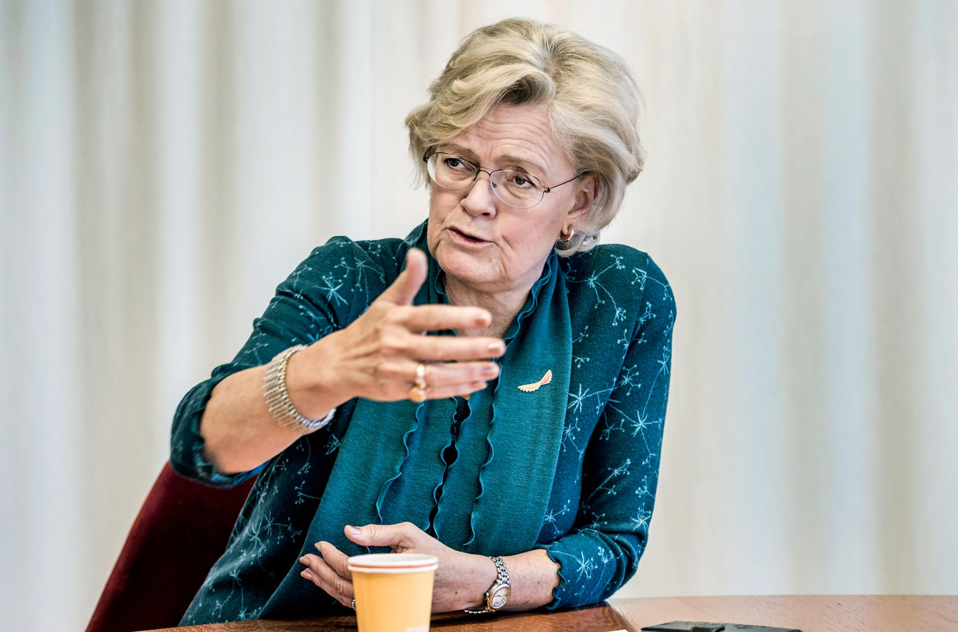 Internationella engelska skolans ordförande Carola Lemne.