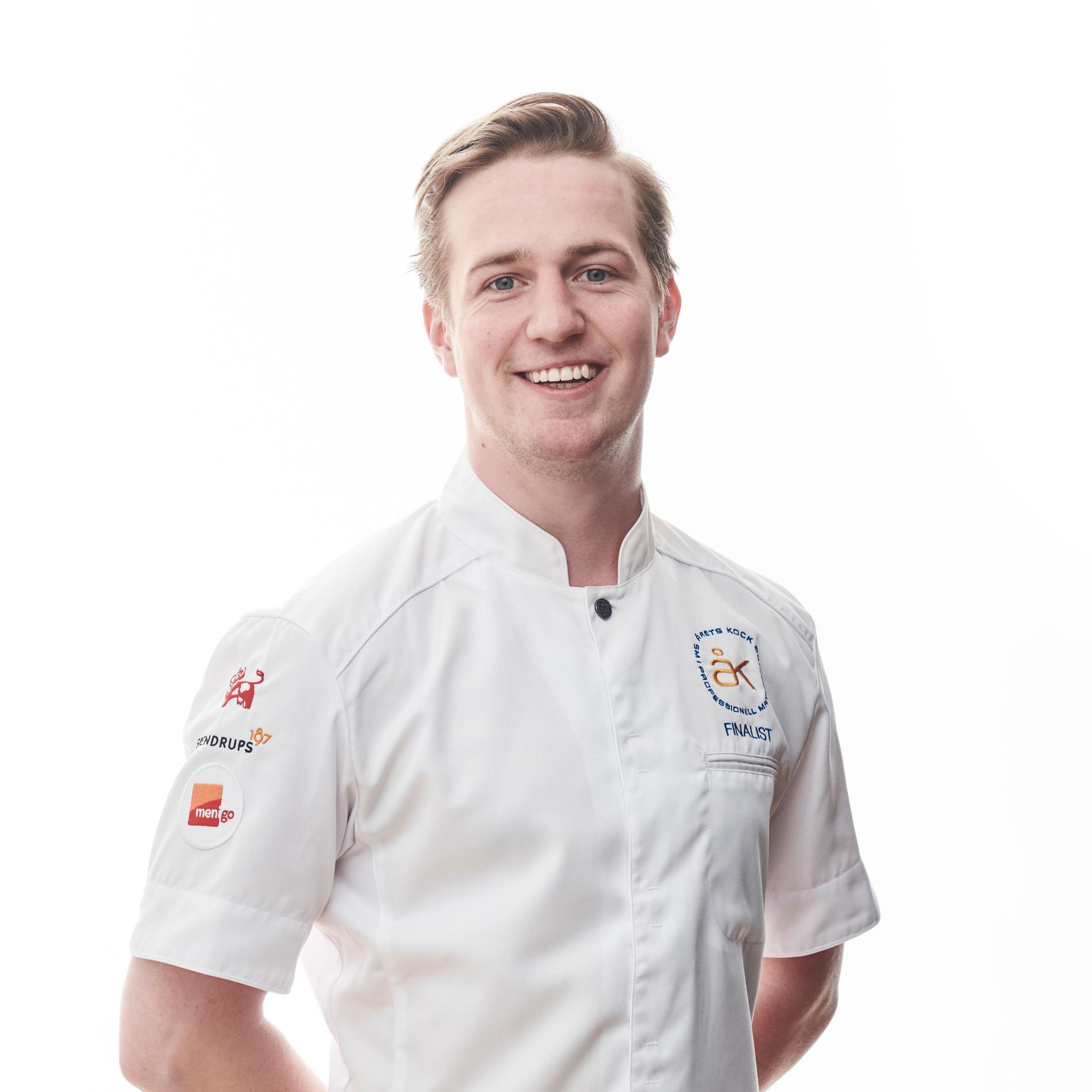 Gustav Leonhardt tävlar för trettonde gången, men första gången i Årets kock.