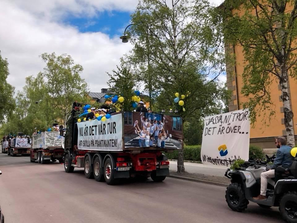 I förra veckan stod plakatet i Östersund.