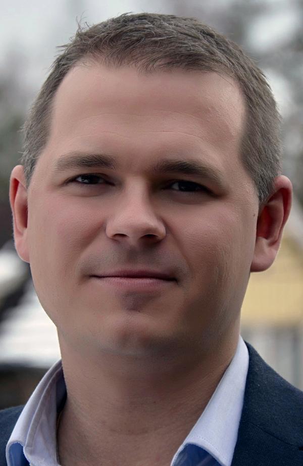 Peder Hyllengren, forskare Försvarshögskolan.