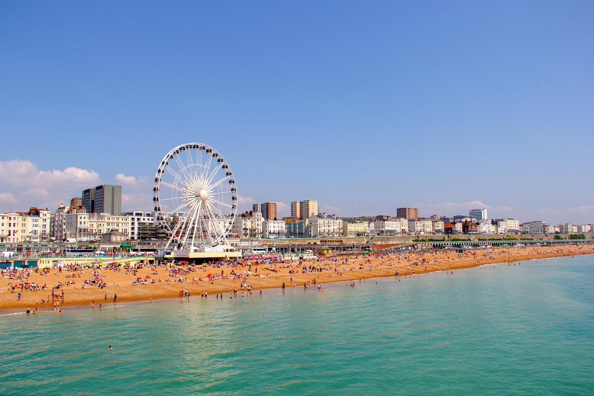 Brighton är även känd som London by the sea.