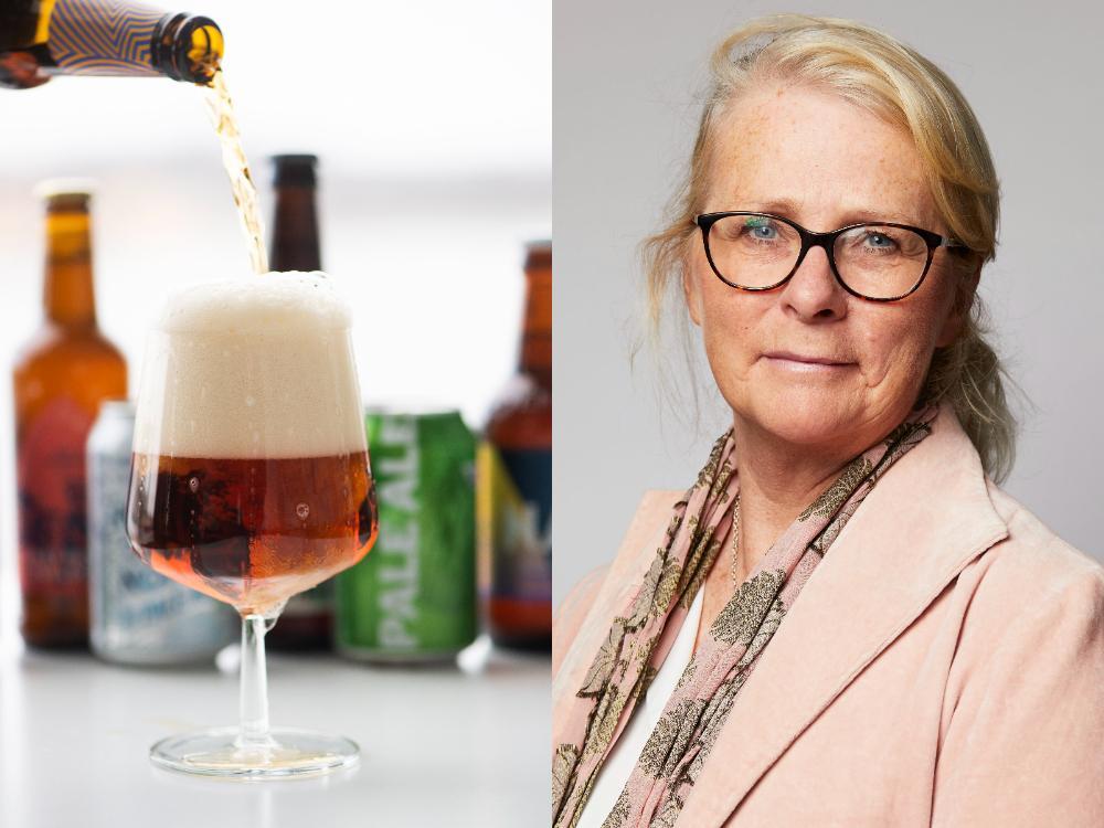 Tini Sunmark, sortimentsansvarig Kalla Drycker på Coop Sverige