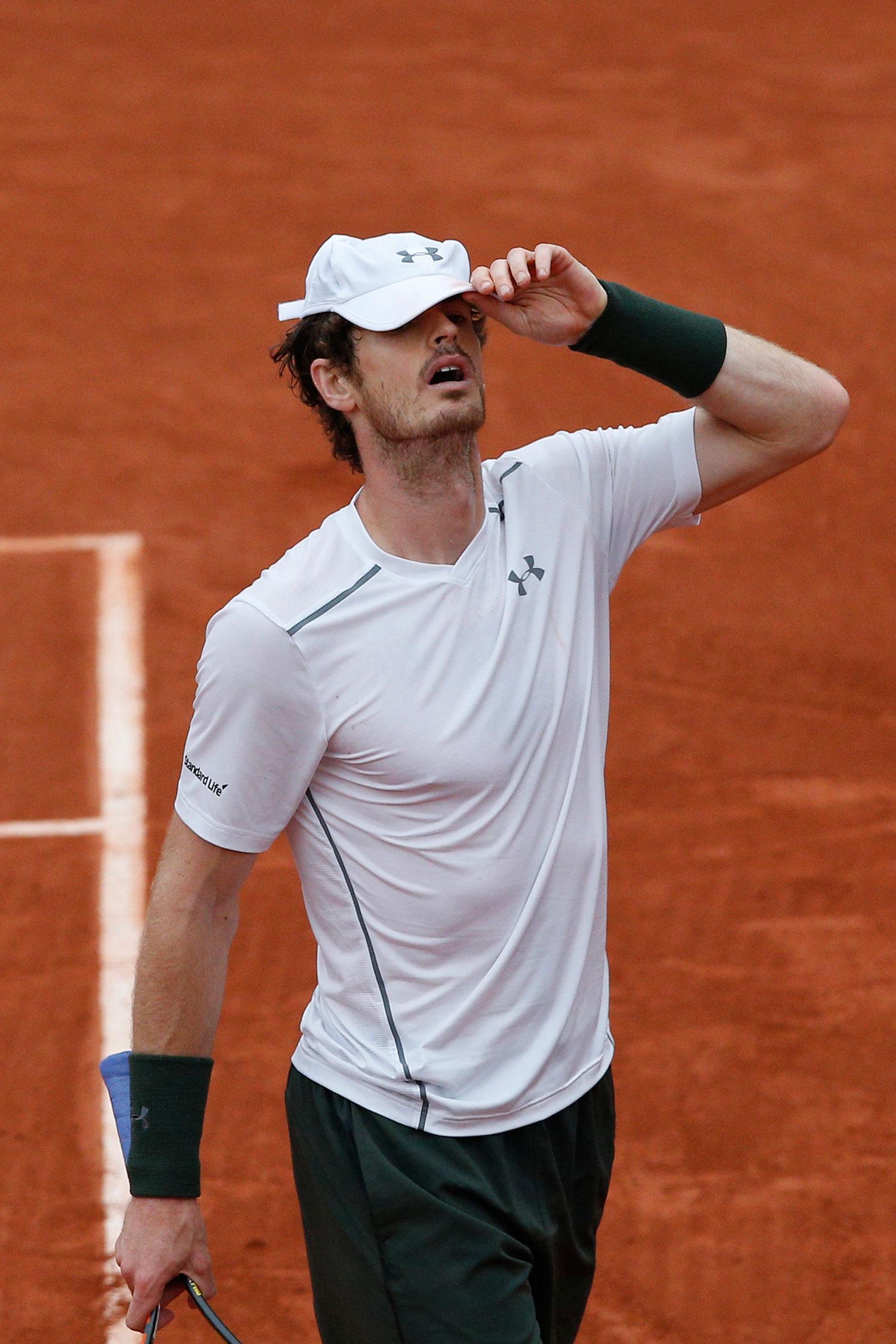 Andy Murray tappade matchen.