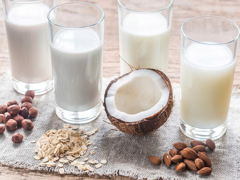 """Hasselnötter, havregryn, kokos eller mandlar, det går att göra """"mjölk"""" av mycket."""