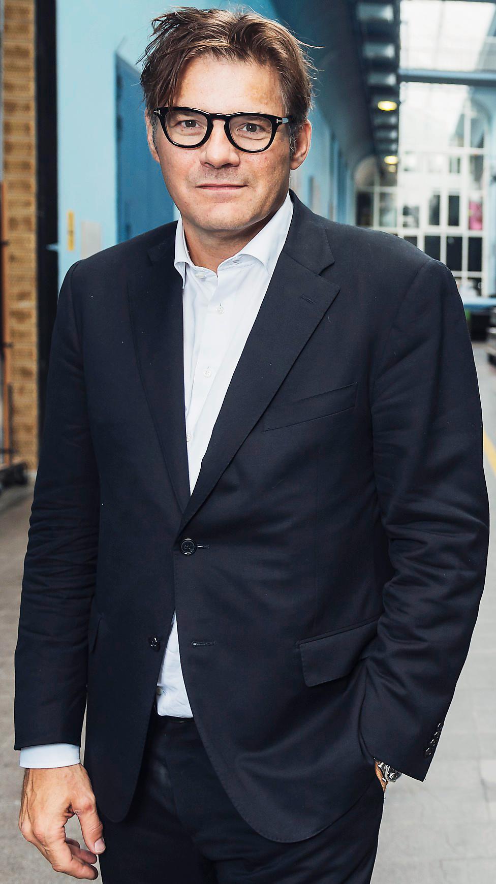 Jan Helin, programdirektör på SVT.