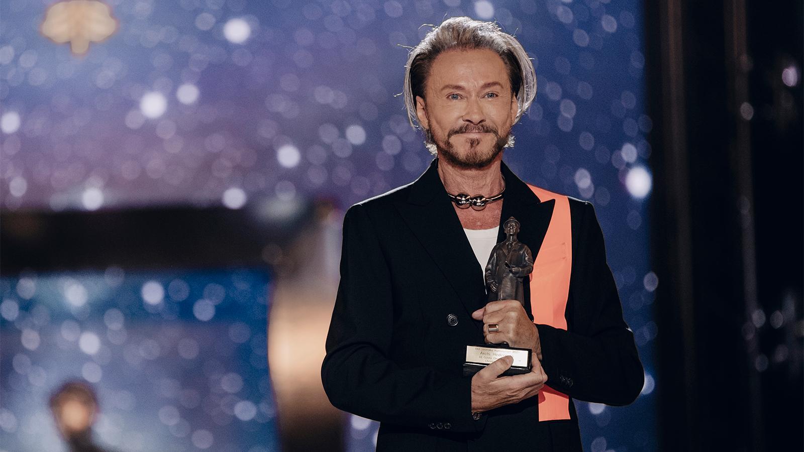 Christer Lindarw fick hederspriset til Gösta Ekmans minne.