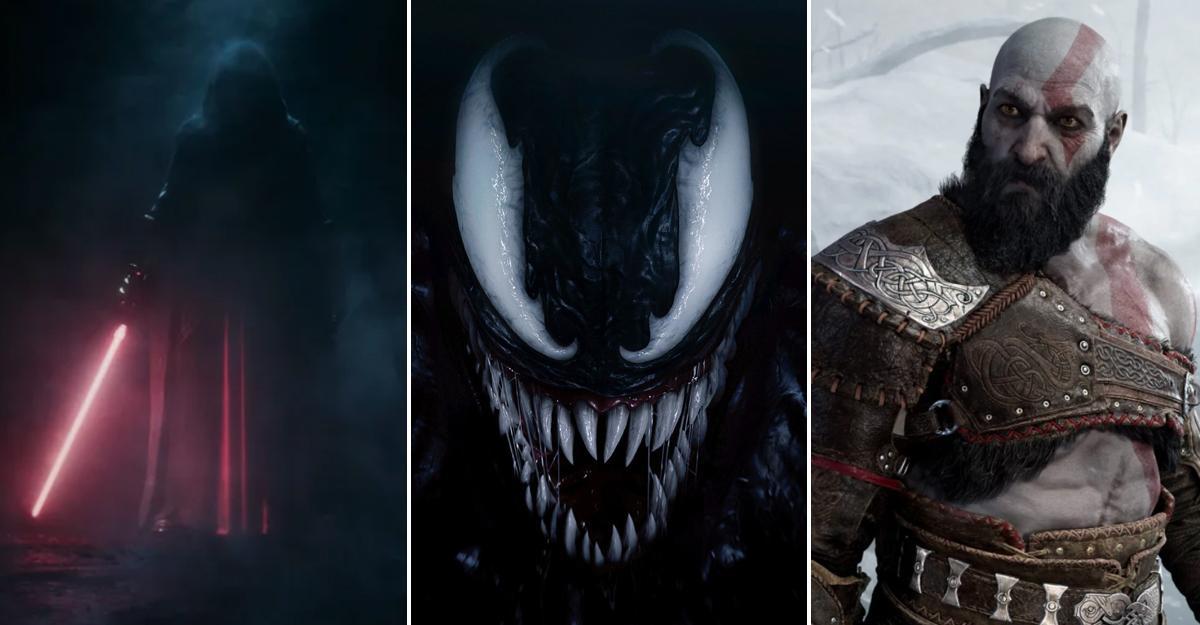 Star Wars, Spider-Man och God of War är på gång.