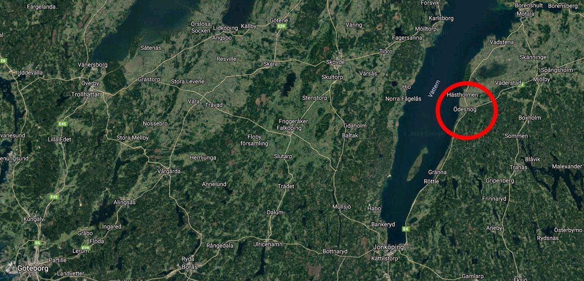 Ödeshög i Östergötland