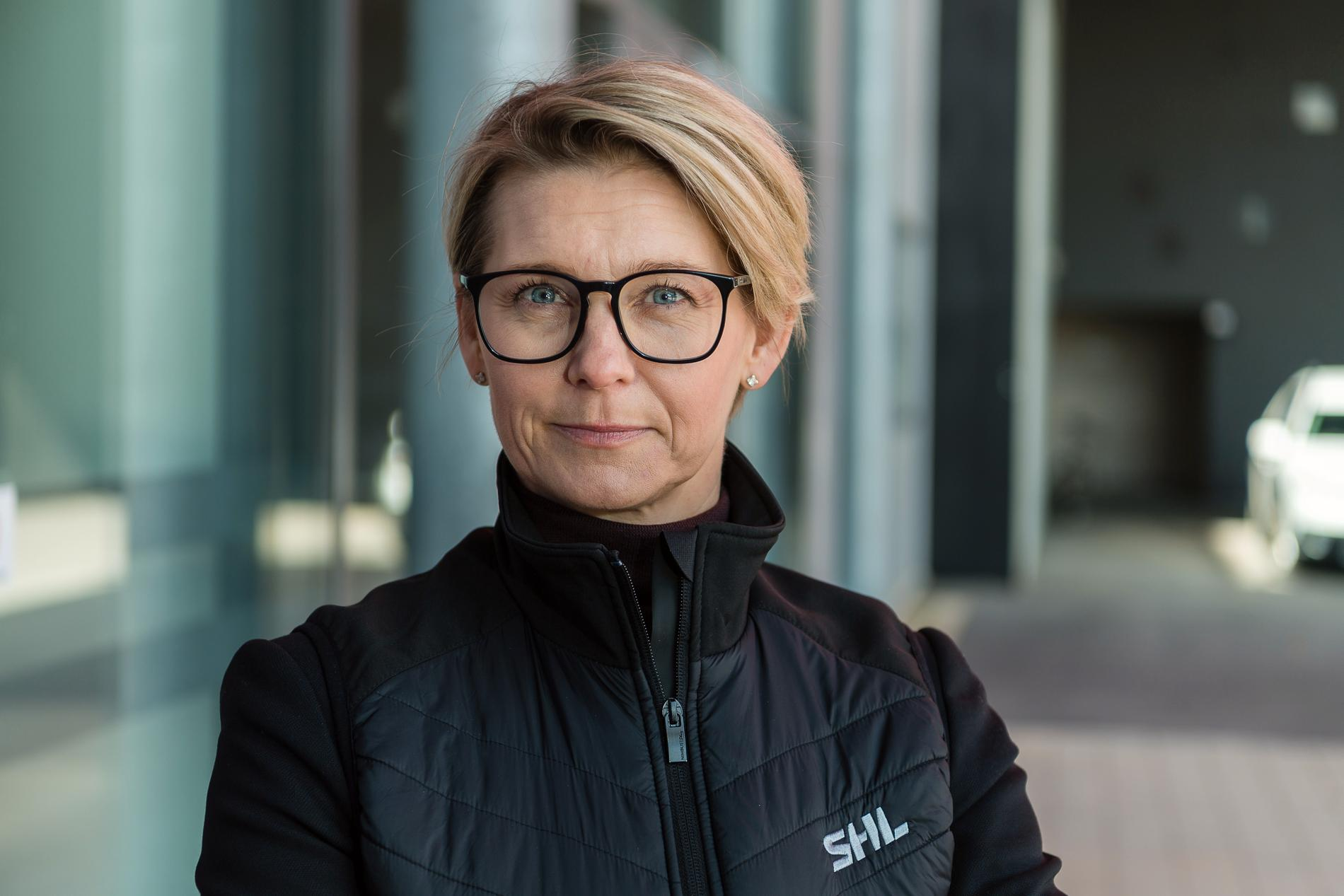 SHL:s vd Jenny Silfverstrand
