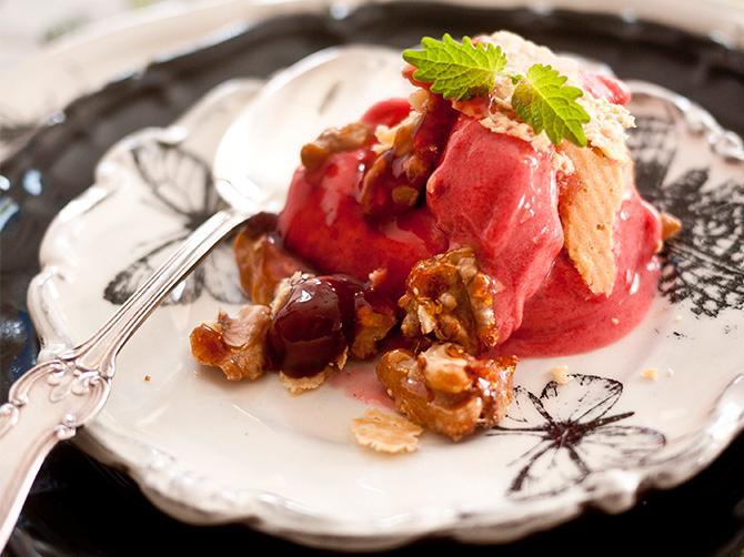 Semifreddo – den perfekta desserten till en romantisk middag.