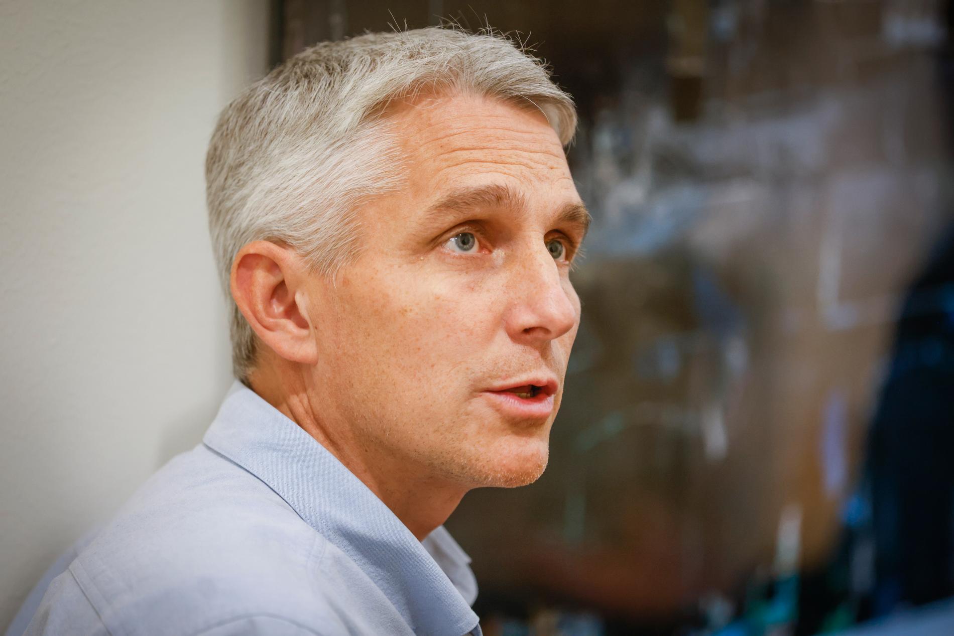 Fredrik Sund, verksamhetschef på infektionskliniken på Akademiska sjukhuset i Uppsala.
