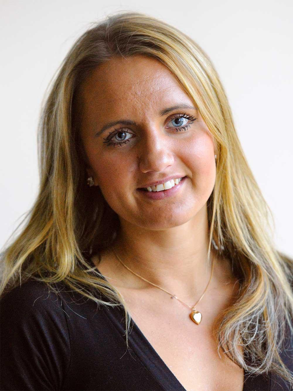 Anna Hagberg, tf Informationschef på Ving