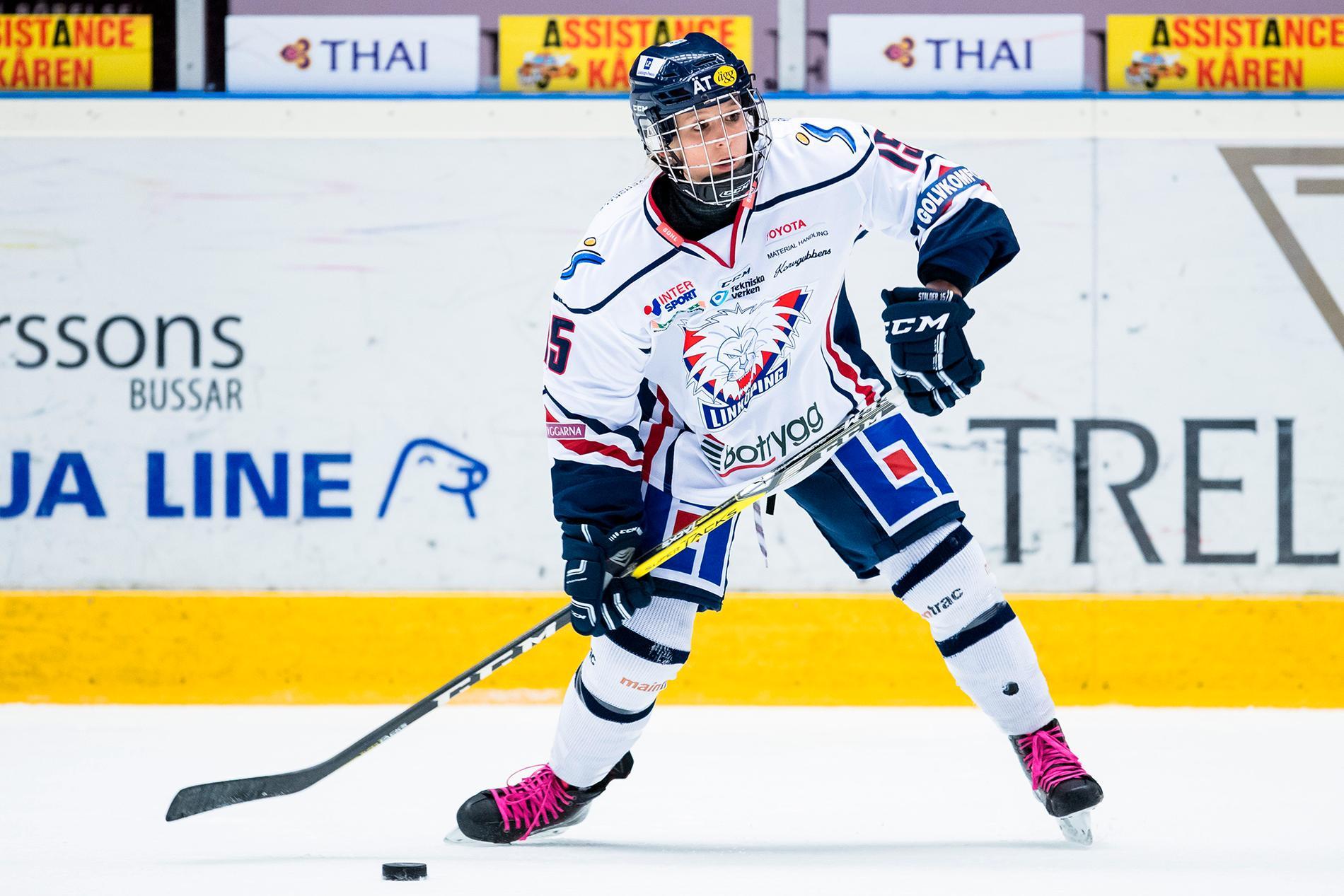 Poängdrottningen Lara Stalder lämnar Linköping för Brynäs.