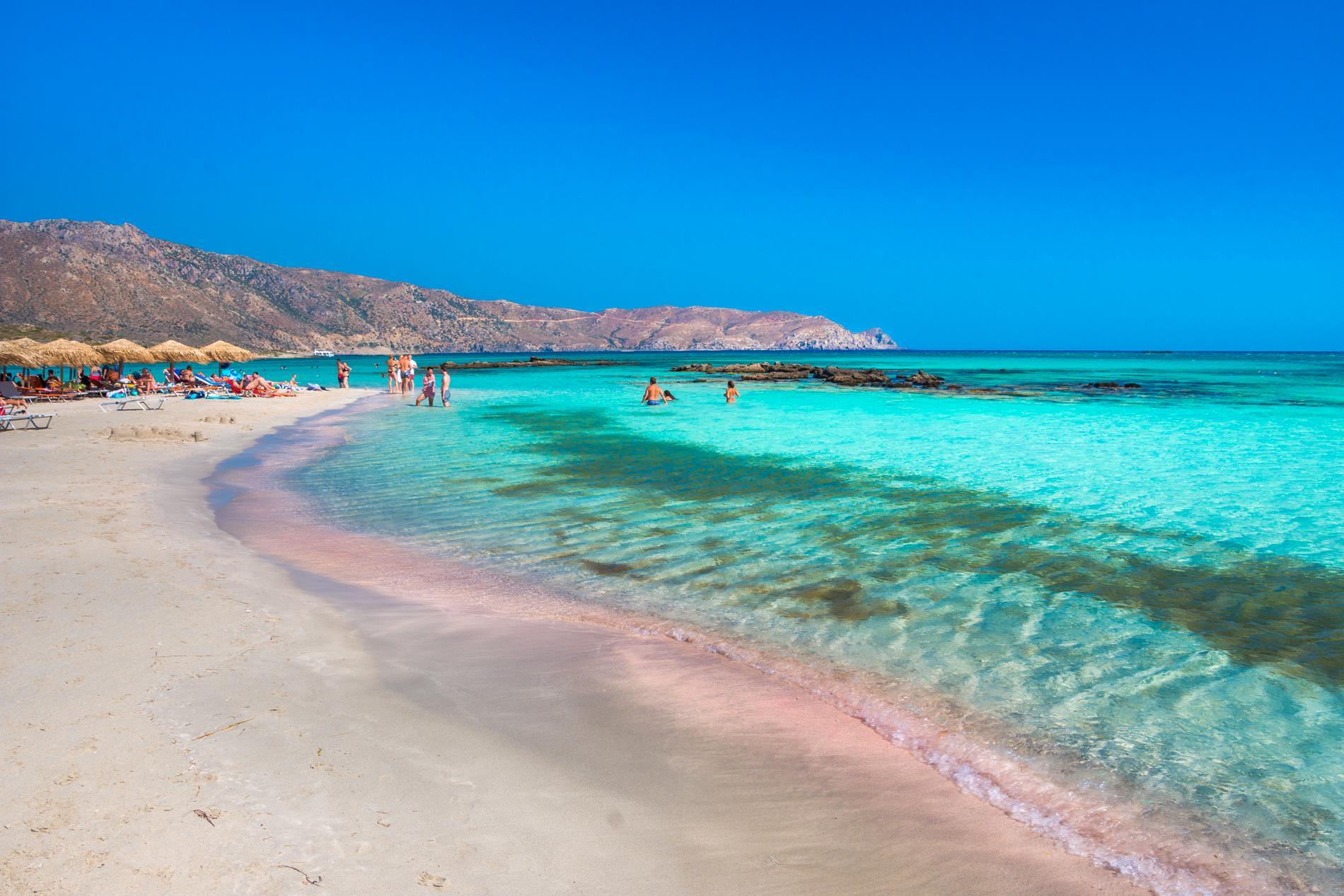 Elafonissi kallas ibland för Greklands Maldiverna.