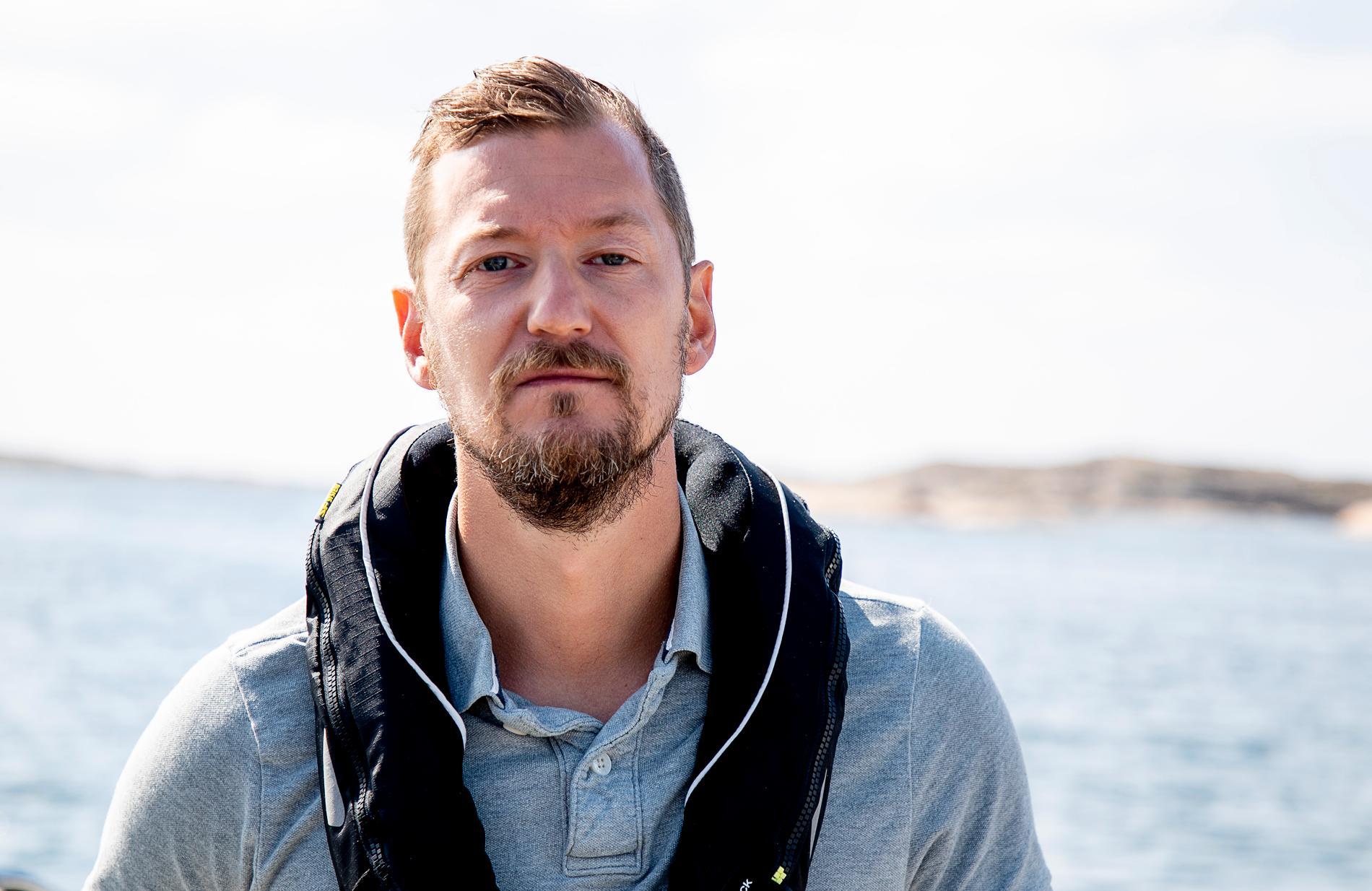 Fredrik Lindgren, utredare på Havs- och vattenmyndigheten.