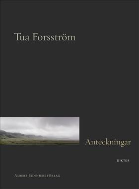 Anteckningar av Tua Forsström (bokomslag)