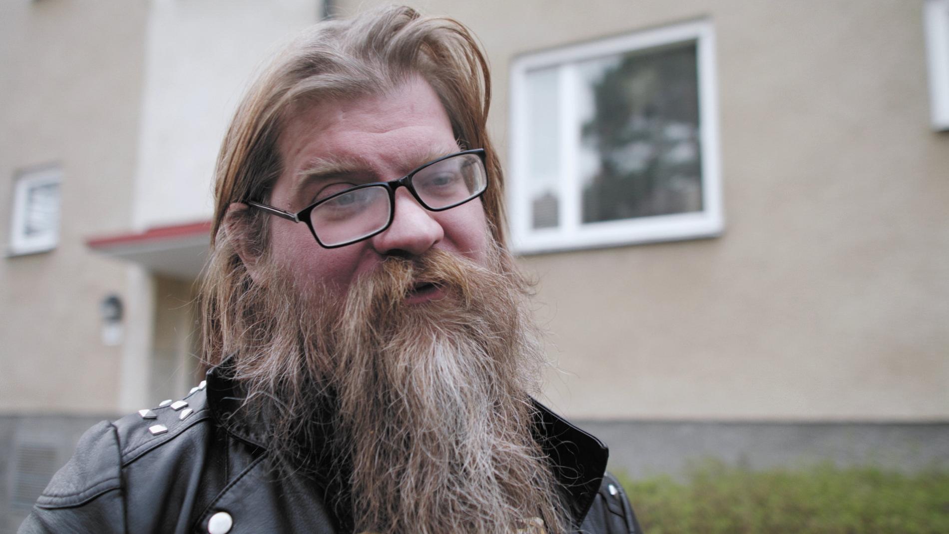 """Det var Martin Iliou själv som insisterade på att vännen Mattias Sjöstedt skulle filma alla deras möten. """"Jag fick en instinktiv känsla av att det som hände var viktigt"""", säger han. Pressbild."""