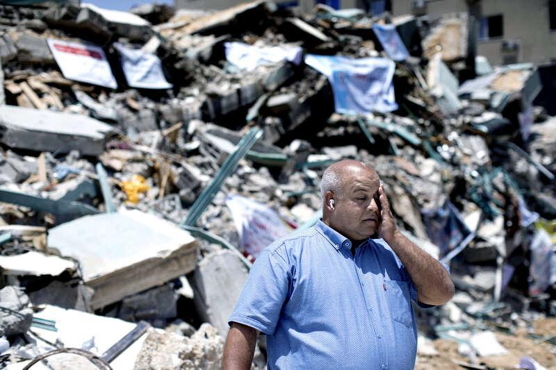 """""""Jag gillar verkligen inte att återvända hit. Det är för ledsamt"""", Wael Dahdouh."""