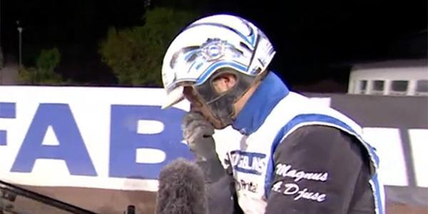 Det var en känslosam seger för Magnus A Djuse i Jubileumspokalen.