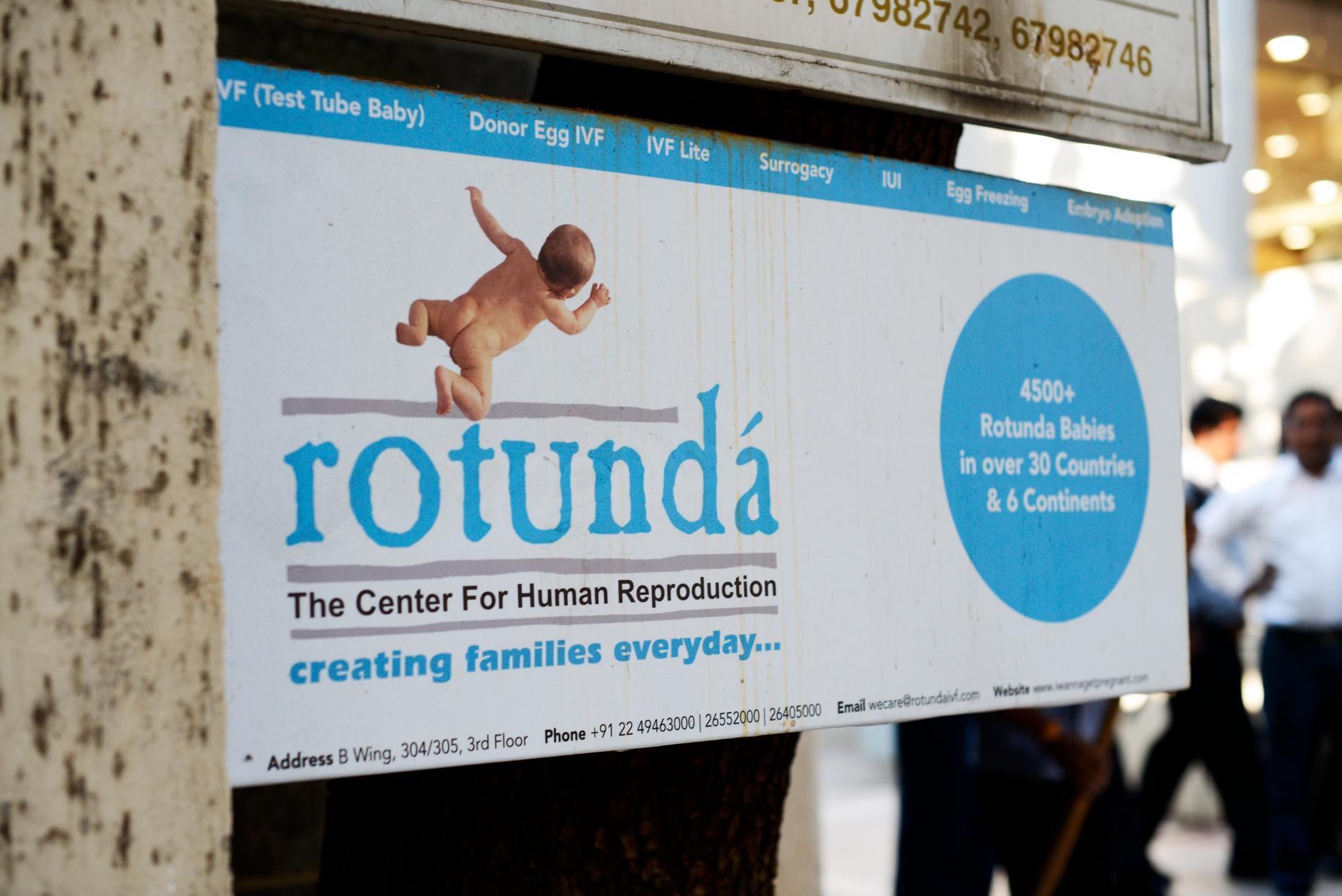 Kliniken där Mona Qureshi bestämde sig för att bli surrogatmamma åt ett norskt par för sex år sen.