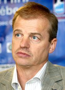 Förbundskapten Bengt-Åke Gustafsson.