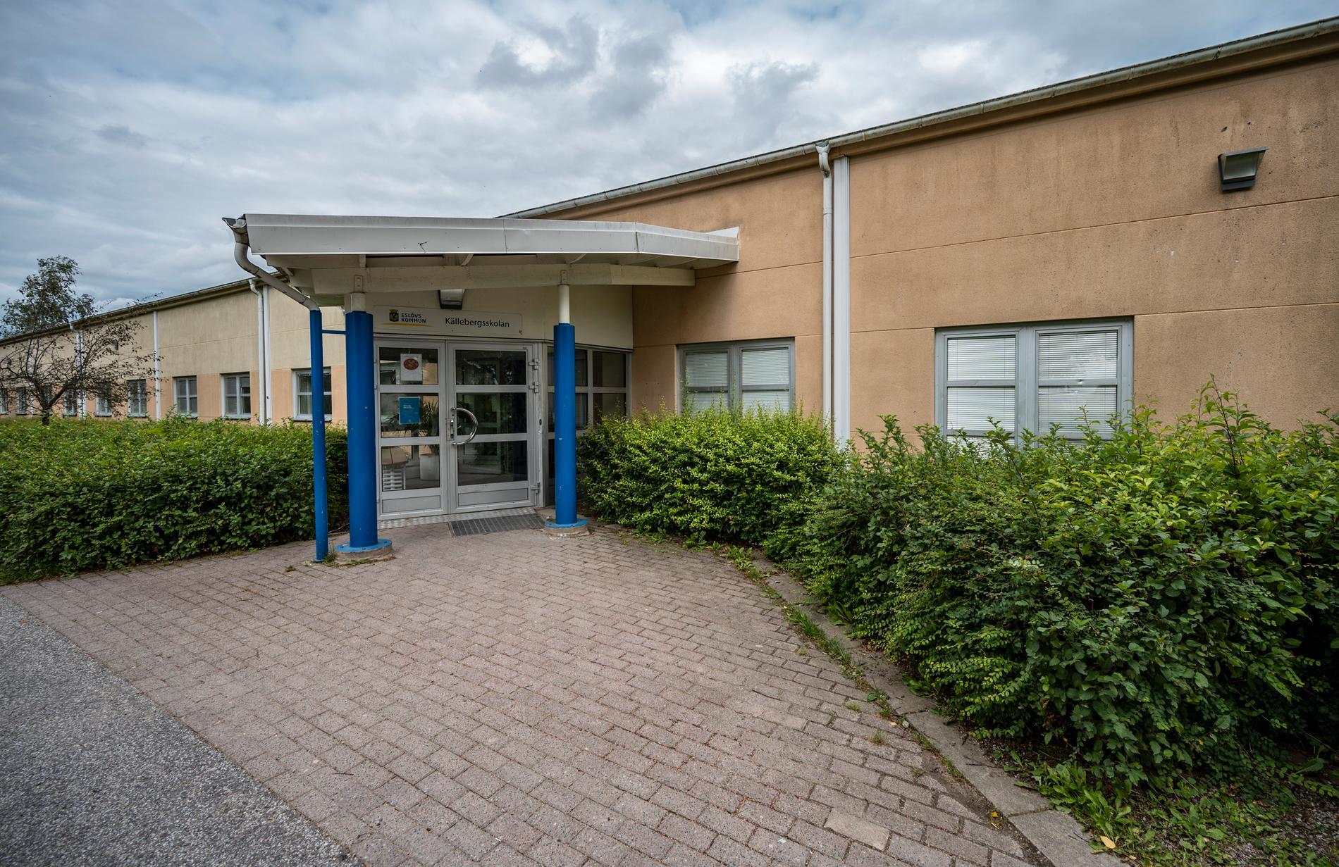 En 15-årig elev på Källebergsskolan kunde gripas omedelbart efter mordförsöket på en av skolans anställda. Arkivbild.