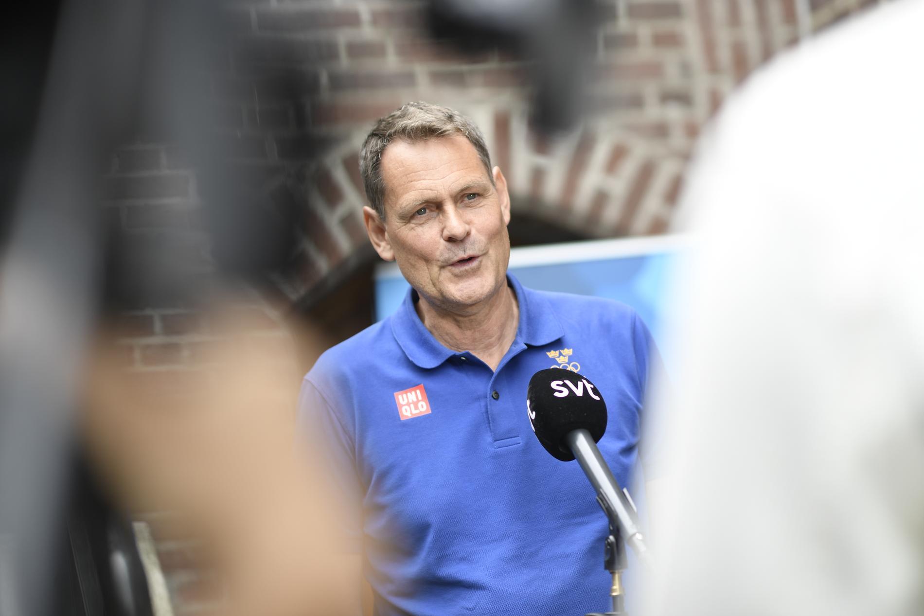 Verksamhetschef Peter Reinebo medger att starten på OS i Tokyo inte är vad SOK hoppades på. Arkivbild.