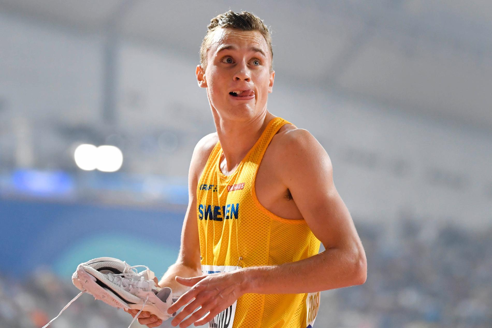 Sveriges Kalle Berglund blir den första svenska herrlöparen sedan Dan Waern 1960 att springa en stor mästerskapsfinal på 1500 meter.