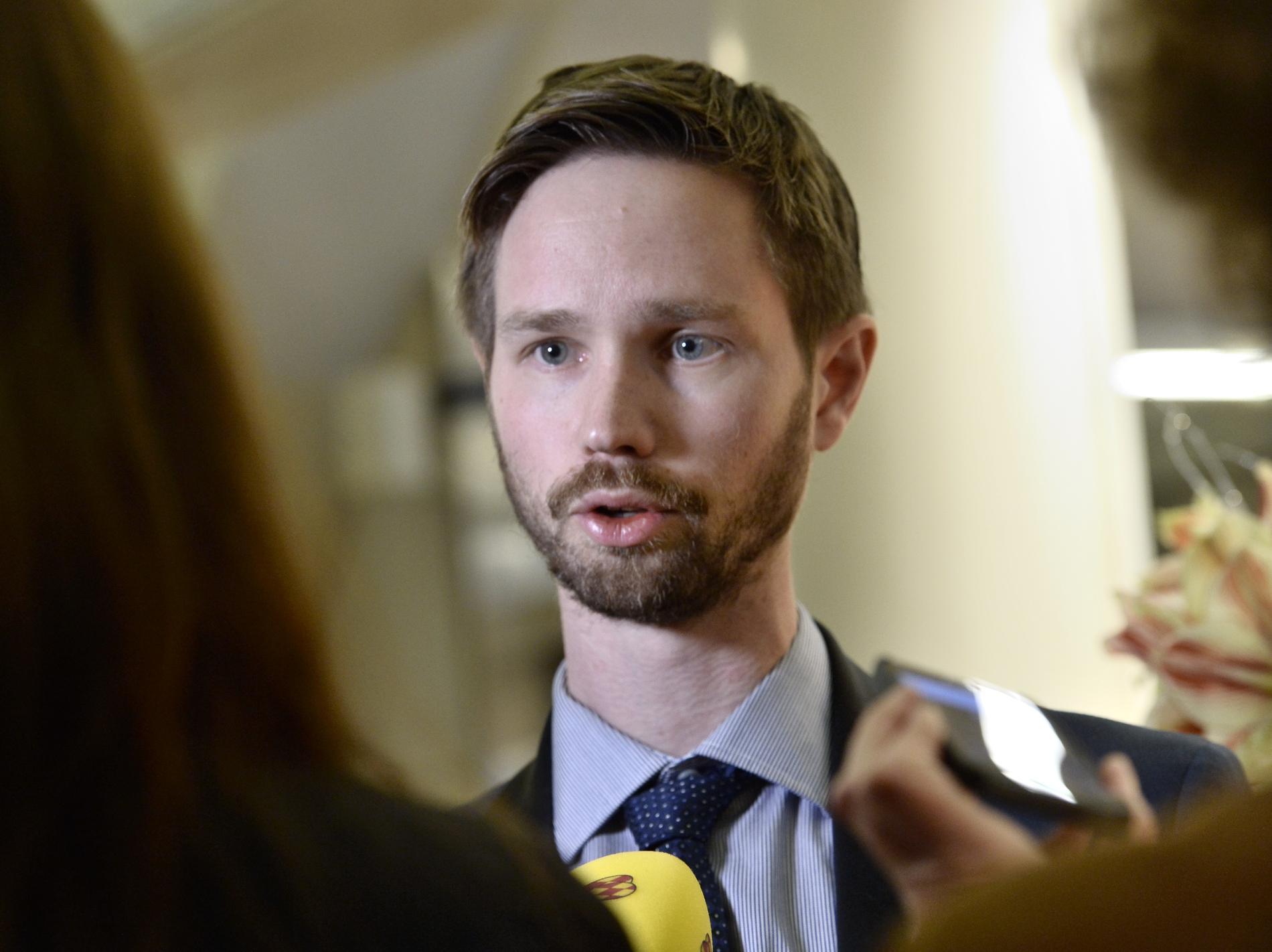 Rasmus Ling, Miljöpartiet.