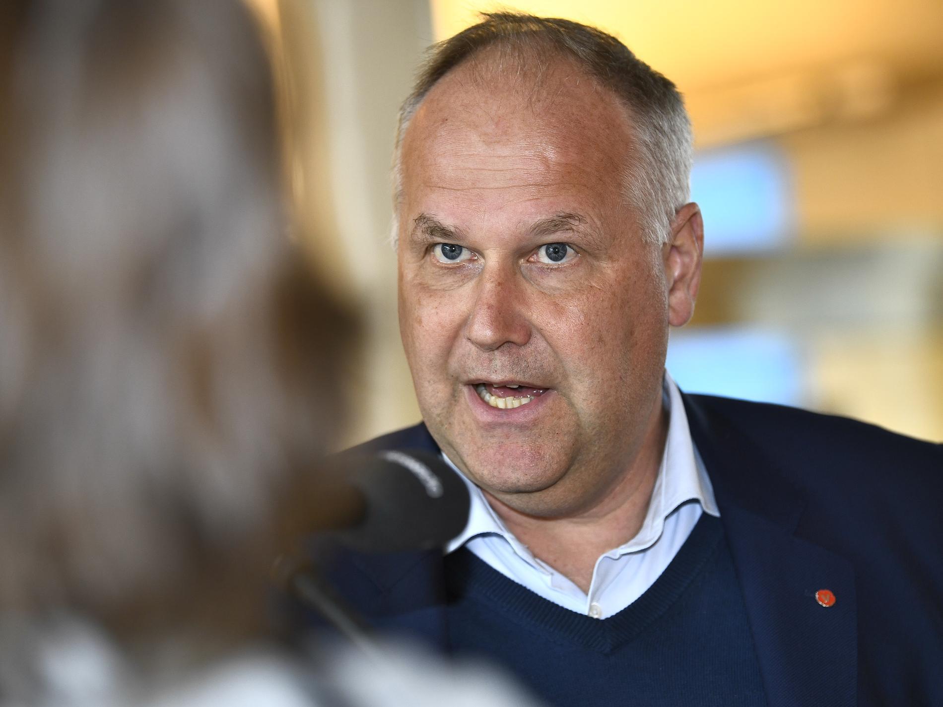 Jonas Sjöstedt, partiledare Vänsterpartiet.