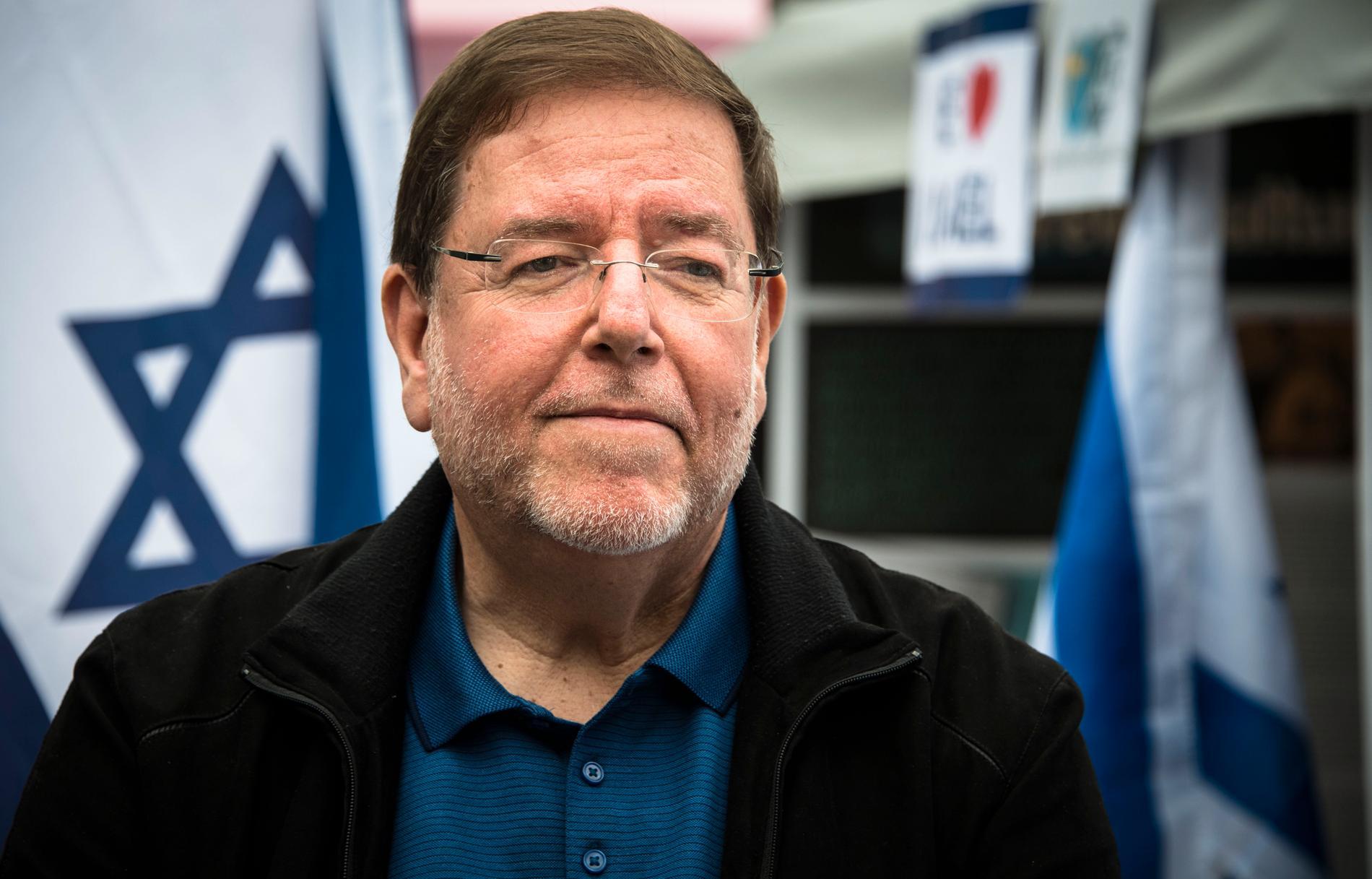 Israels ambassadör Ilan Ben-Dov.