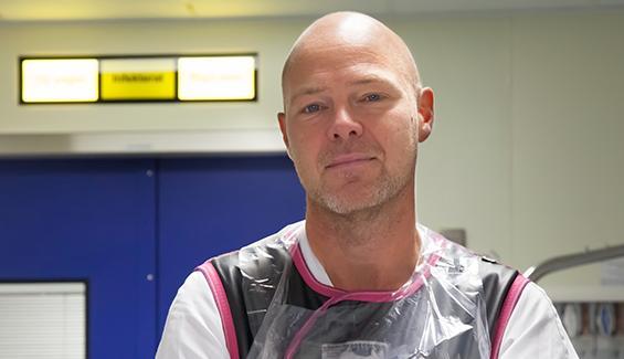 Mikael Bergenheim, områdeschef för slutenvården i Region Värmland, var tidigare överläkare på Centralsjukhuset i Karlstad.
