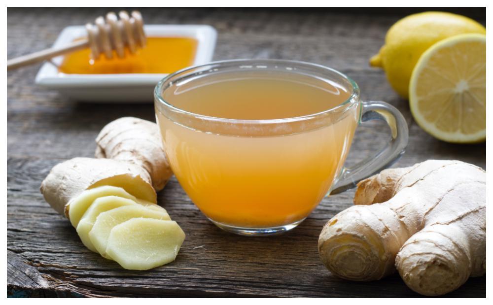 Ingefärsshots med citron