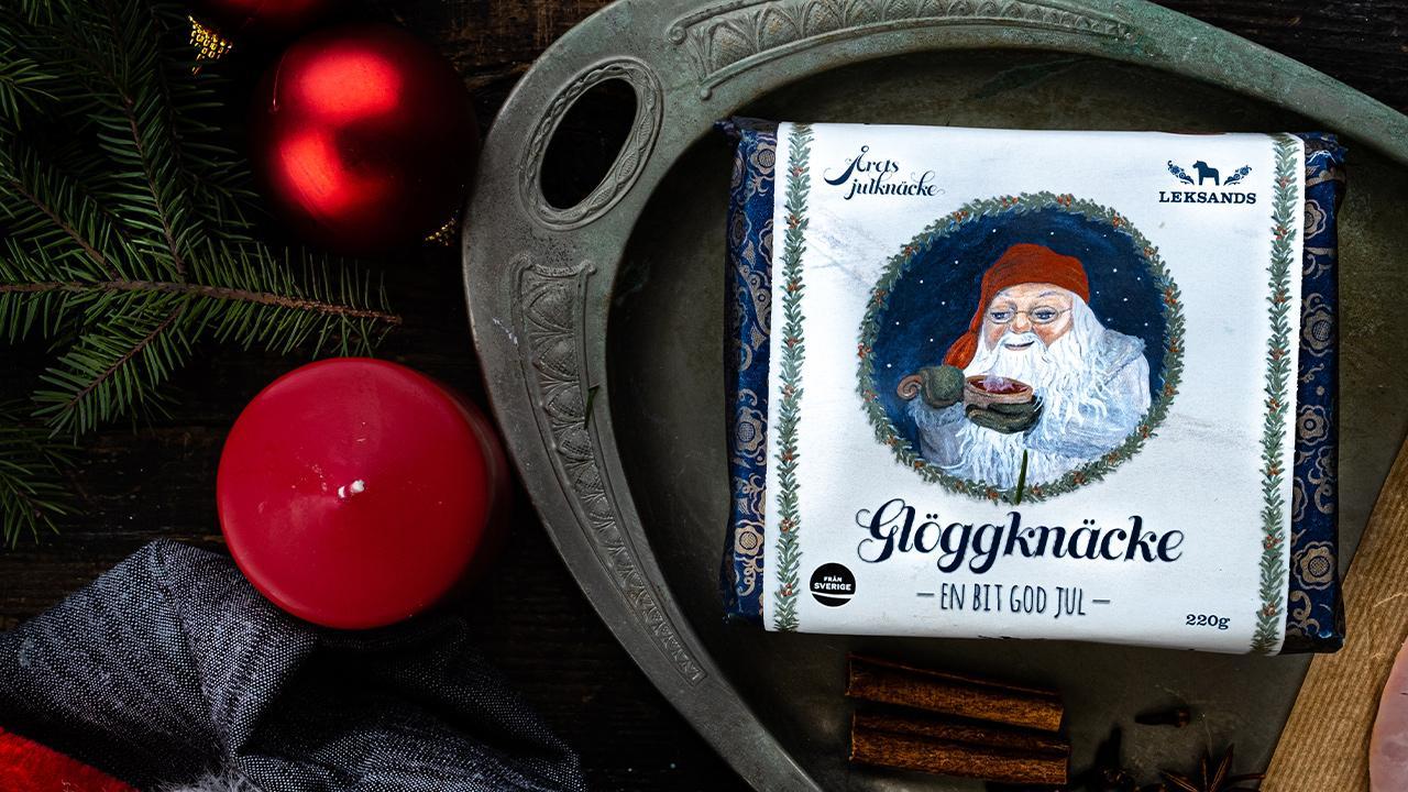 Leksands knäckebröd kommer med en glöggig smak på sitt julknäcke i år.