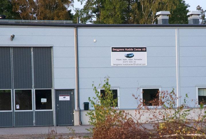 Berggrens Husbils Center i Lagan.