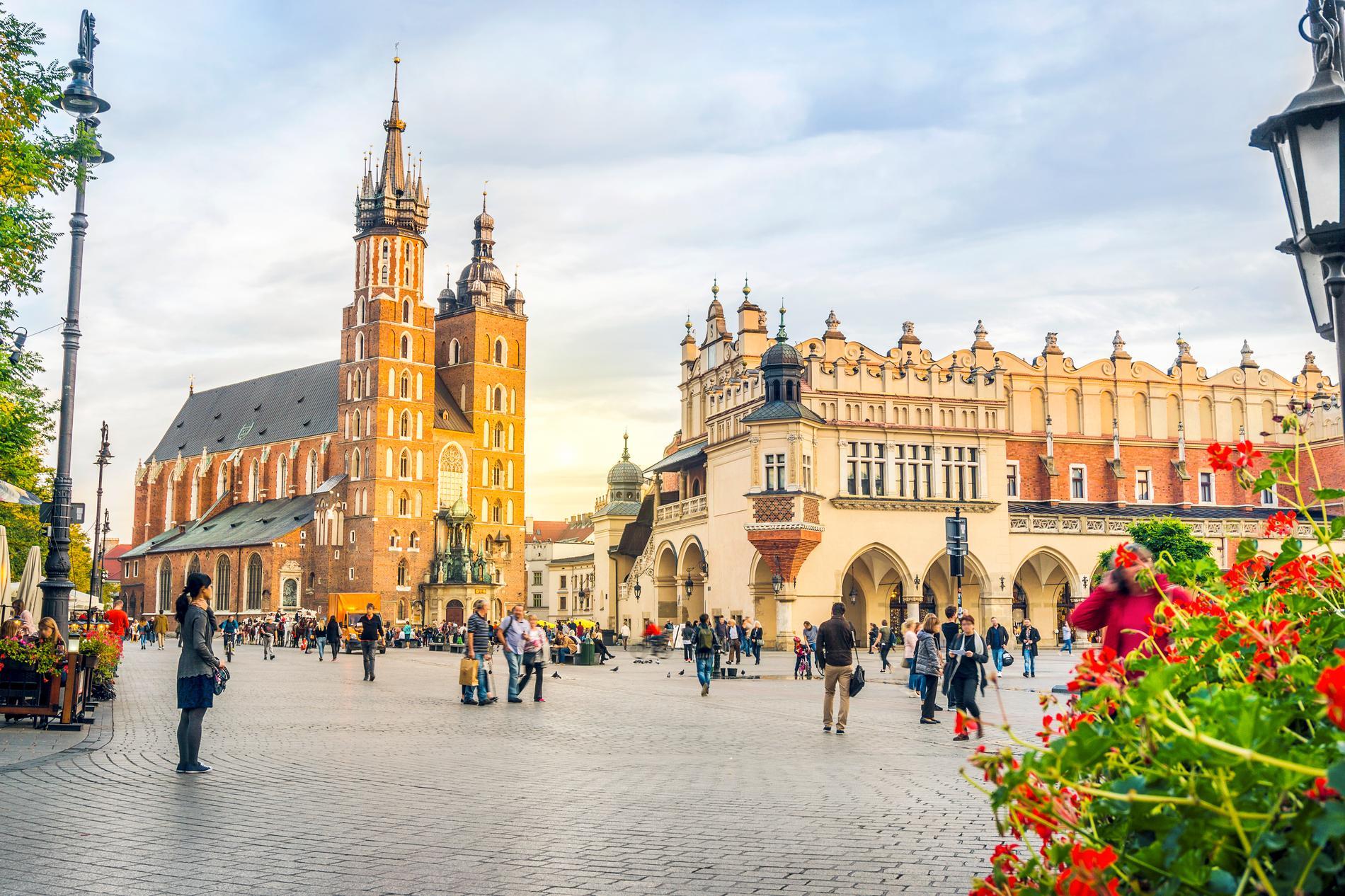 Krakow kallas för Polens kulturella huvudstad.