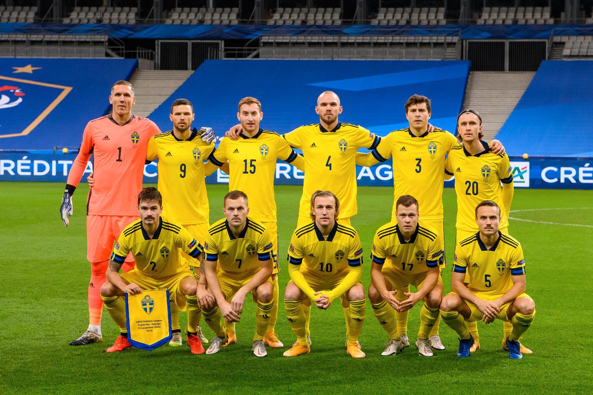 Sverige spelar i VM-kvalgrupp B tillsammans med Spanien, Grekland, Georgien och Kosovo.