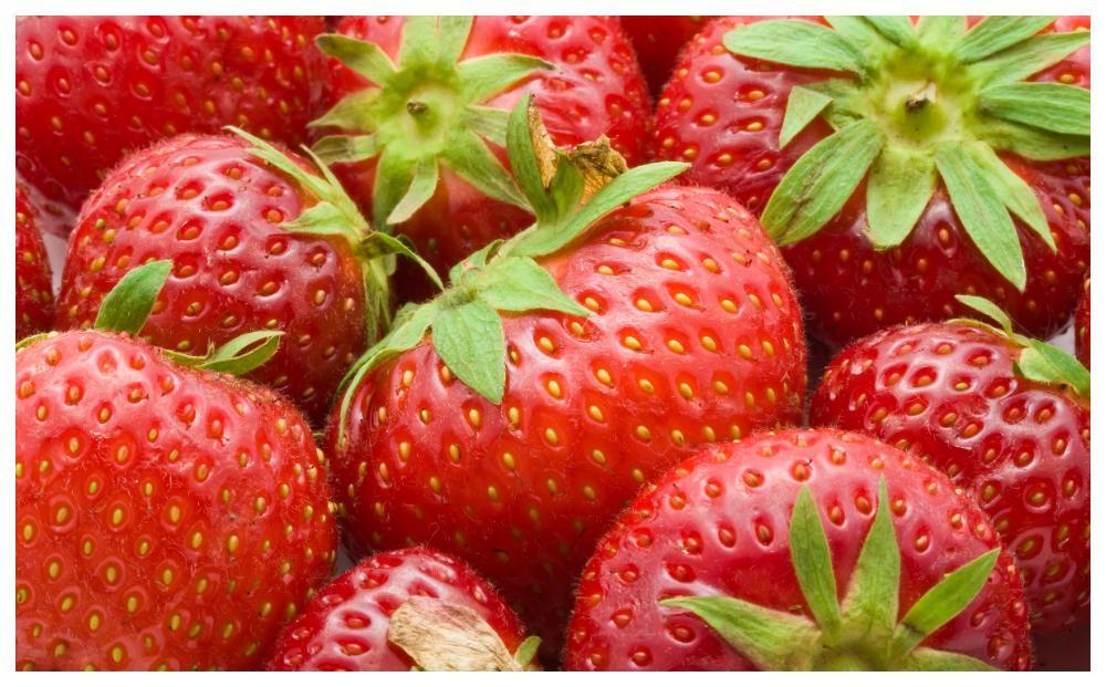 Jordgubbar är rika på C-vitamin, fytonutrienter och antioxidanter.
