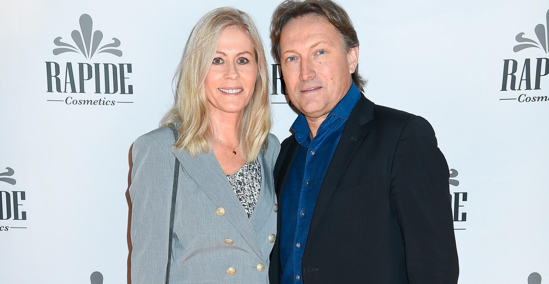 Nina Gunke och maken Samuel Holgersson 2016.