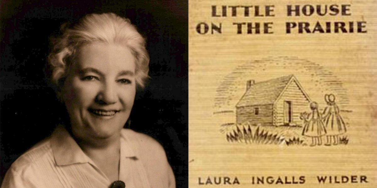 """Laura Ingalls Wilder skrev bokserien """"Lilla huset på prärien"""""""