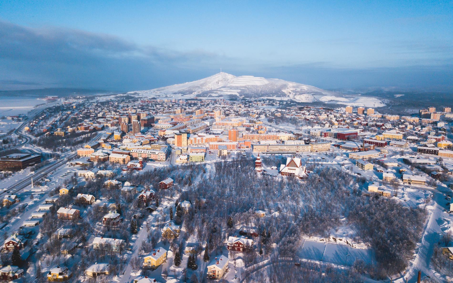 Rasrisk gör att hela Kiruna ska flyttas.