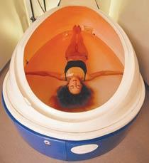 Floating - skönt för kropp och själ.