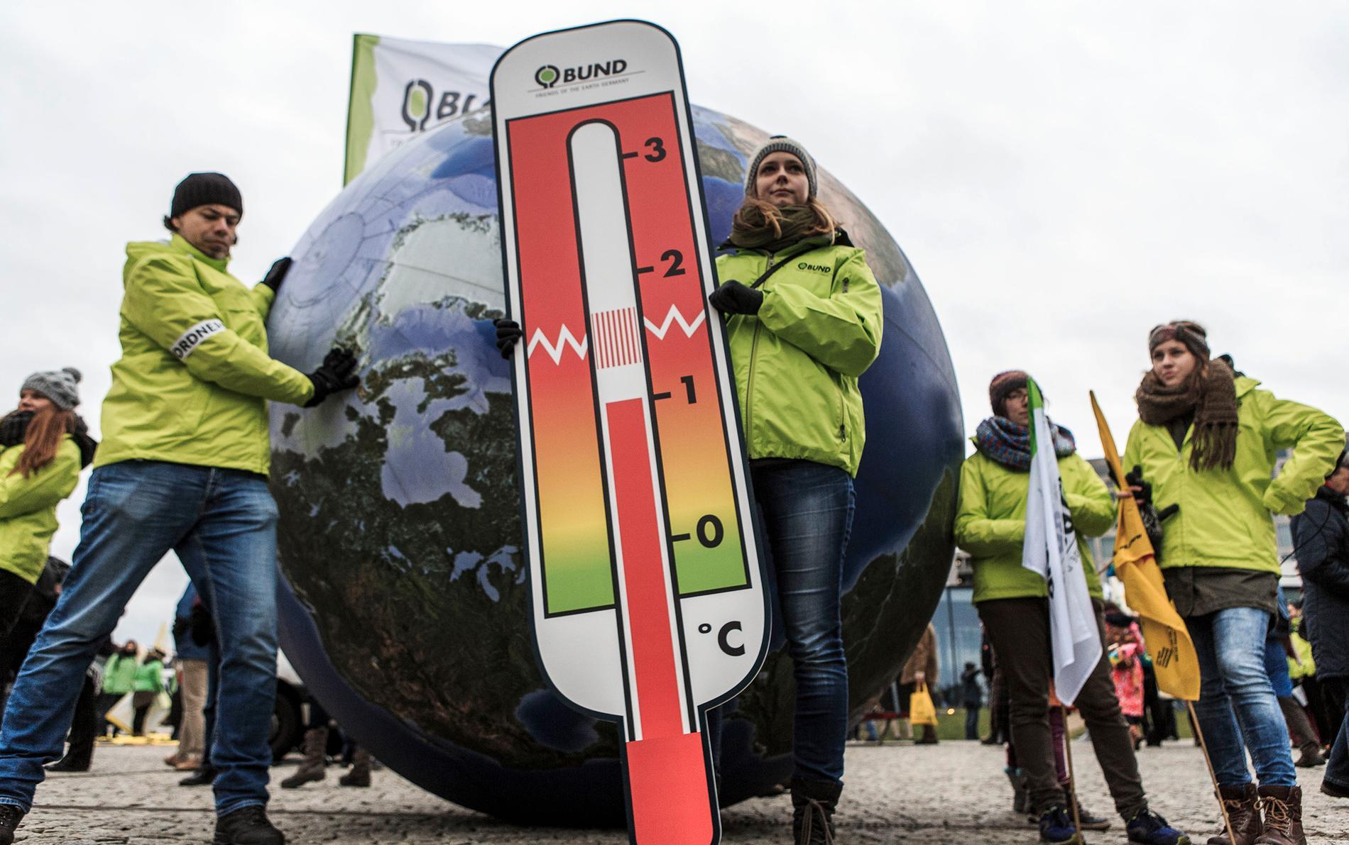 Tyska klimataktivister.