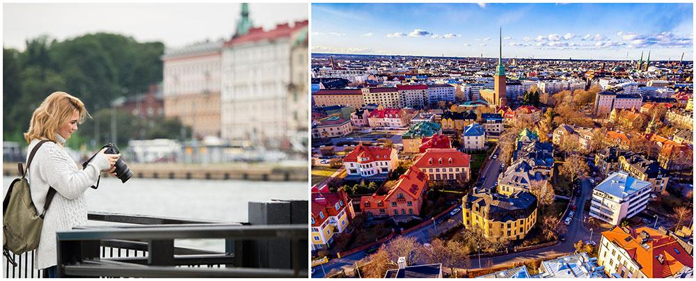 I Helsingfors kan du frossa i finsk design, mönster, färger och former.