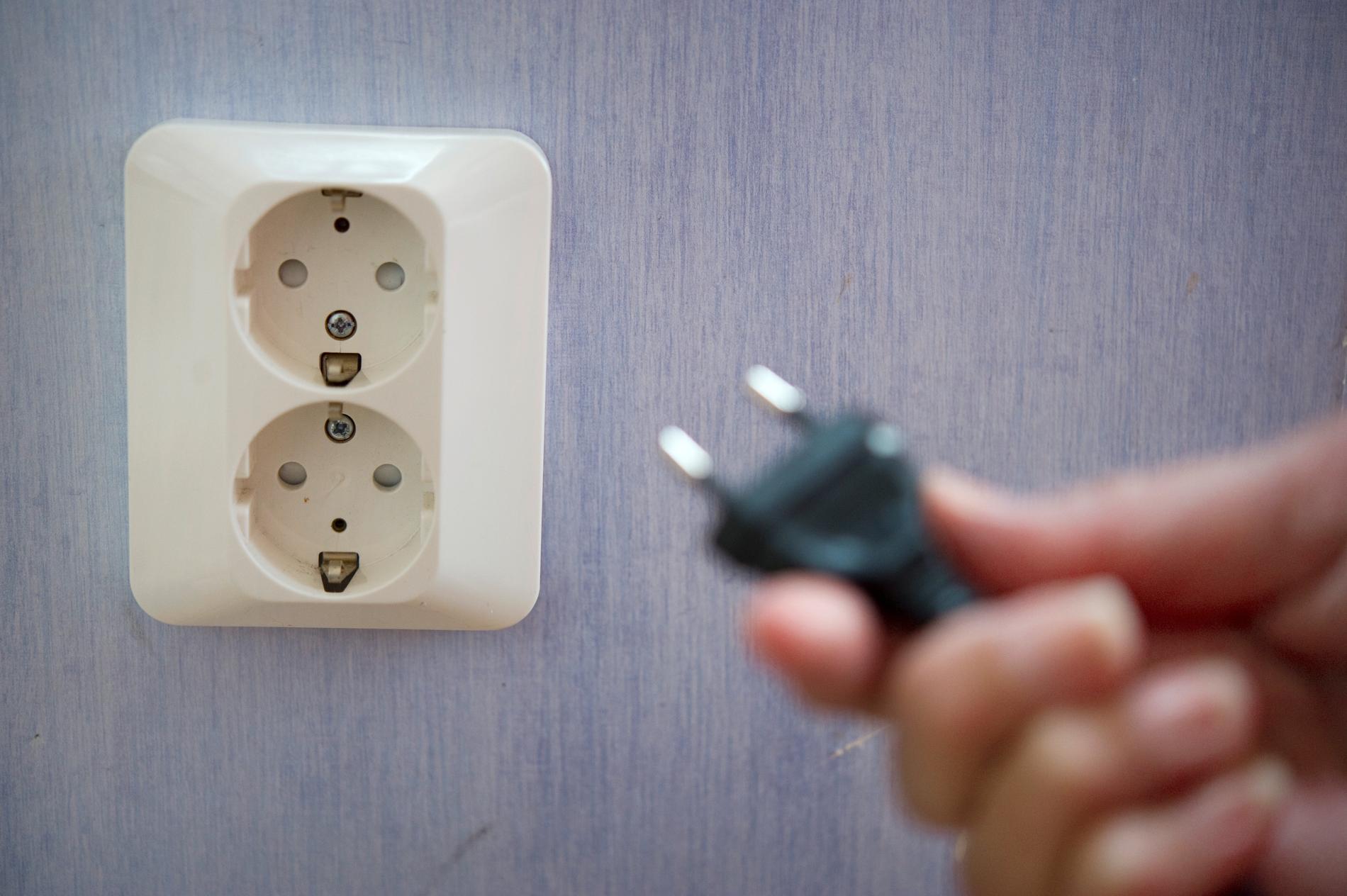Över 9000 kunder drabbades av strömavbrott i sydvästra Skåne. Arkivbild.