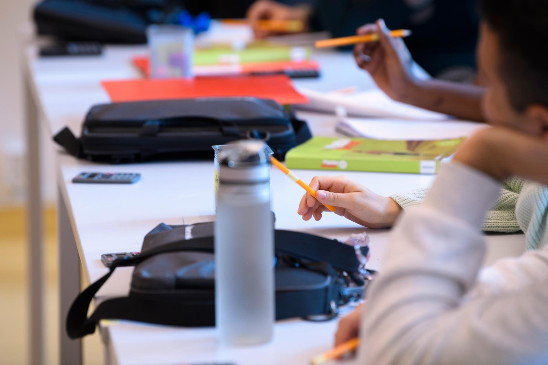 Räkna med mycket debatt om friskolor det närmaste året. Till våren väntas ett regeringsförslag om ett nytt skolvalssystem. Arkivbild.