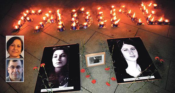 Vi behöver ta avstånd från förövarnas och förtryckarnas förvrängda normer och värderingar, skriver Esme Güler och Osman Aytar. Bilden är från en manifestation för att hedra mördade Pela Atroshi och Fadime Sahindal.