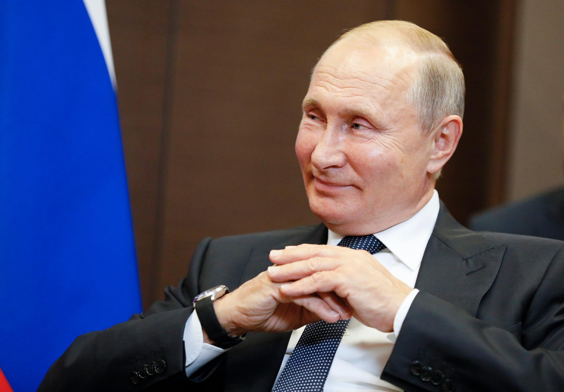 """""""Putin vill vara spelets mästare"""", säger Dmitrij Oresjkin."""